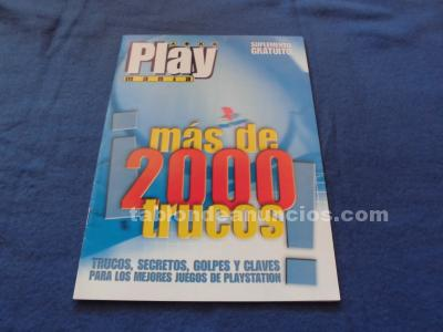 Mas de 2000 trucos ps1 play mania final fantasy,street fighter,resident evil psx
