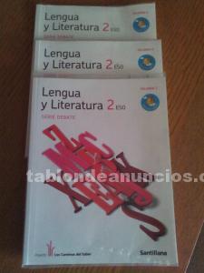 LIBRO DE TEXTO 2º ESO Ed. Santillana