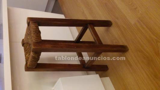 Taburete alto madera