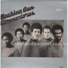 Disco lp vinilo commodores machine gun