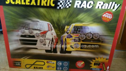 Scalextric rac rally 2000