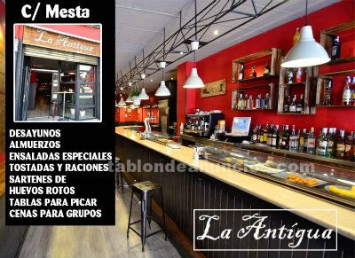 Se traspasa bar la antigua en soria