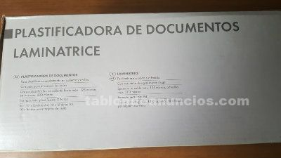Plastificadodora de documentos