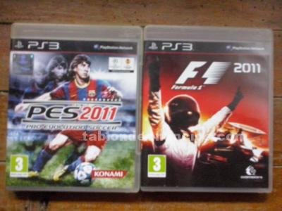 FORMULA 1 2011 Y PES 2011, PLAYSTATION 3