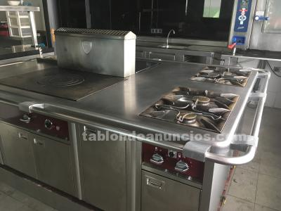 Cocina profesional charvet