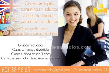 ACADEMIA HI ADVANCE CLASES PARTICULARES