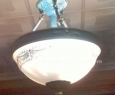 Lámpara de alabastro