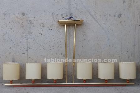Lámpara comedor dorada 130cm