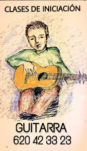 Clases iniciación guitarra