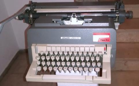 Máquina escribir mecánica olivetti98