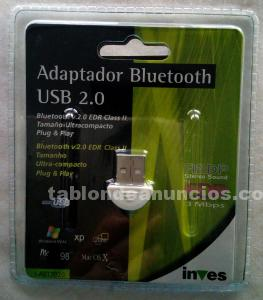 ADAPTADOR BLUETOOTH USB 2.0