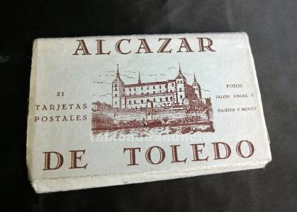 Postales antiguas del alcazar de toledo, 1936