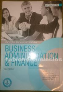 Business administracion & finance