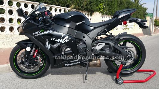Kawasaki zx 10r winter edition