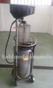 Máquina neumática profesional extracción de aceite