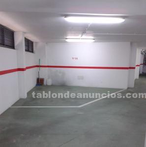 Plaza de garaje independiente 16.30 m