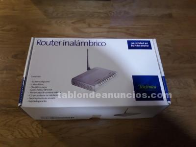 Router inalambrico (zyxel) a estrenar