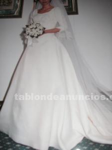 Vestido novia tres piezas