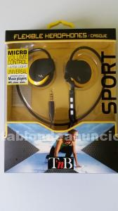 Auriculares deportivos nuevos