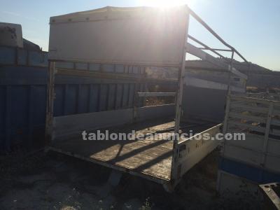 Caja de camion con laterales de aluminio