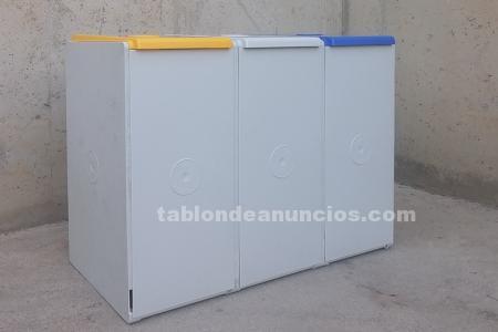Papeleras reciclaje 76x40x56cm