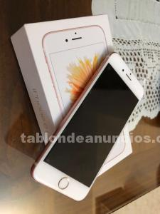 Se vende iphone 6s de color rosa , 16gb