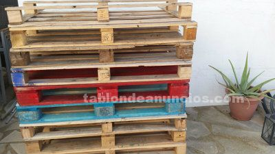 Vendo pallets, buen estado.