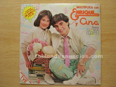 Disco vinilo lp enrique y ana