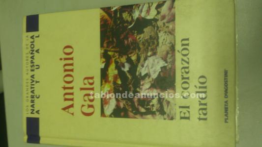 El corazón tárdio de AntonioGala