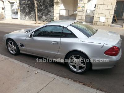 Mercedes sl 500 descapotable