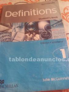 Vendo libro de inglés definitions 1 mac millan