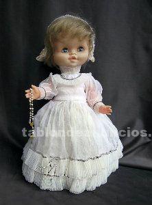 Antigua muñeca de 1ª comunión