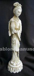 Figuras de alabastro, tallado a mano