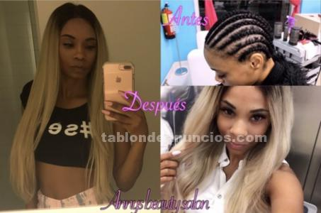 Colocacion de lace frontal y venta