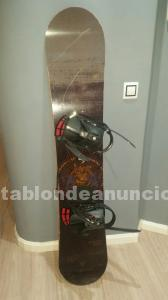Vendo tabla snowboard