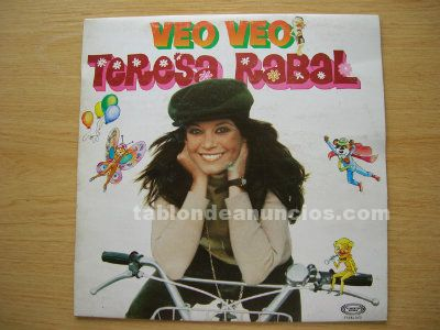 Disco vinilo lp teresa rabal