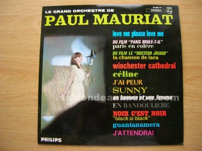 Disco vinilo lp paul mauriat álbum: le grand orchestre de paul mauriat.