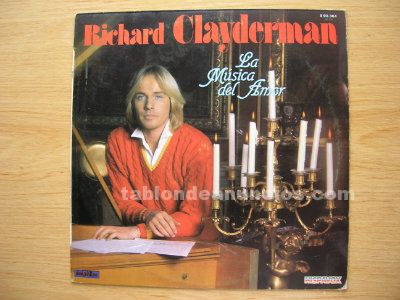 Disco vinilo lp richard clayderman