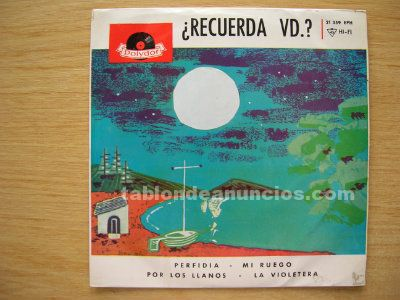 Disco vinilo (single) alberto de luque y los amigos