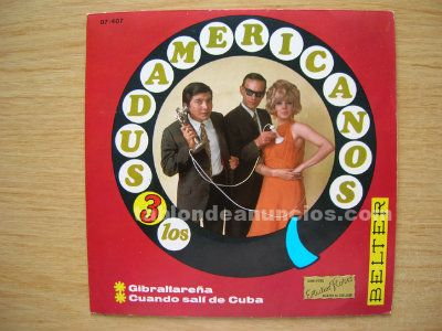 Disco vinilo (single) los 3 sudamericanos
