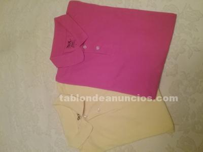 LOTE 2 POLOS CHICO