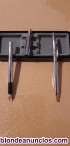 Vendo pluma y bolígrafo