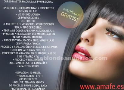 Máster maquillaje profesional