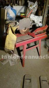 Sierra electrica  de mesa para cortar cerámica