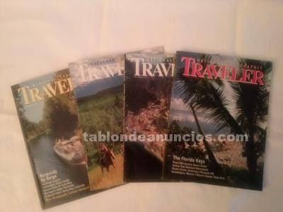 Vendo revistas traveller (national geographic)