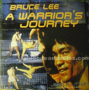 Libro americano ''Bruce Lee. A warrior's journey'' (2001)