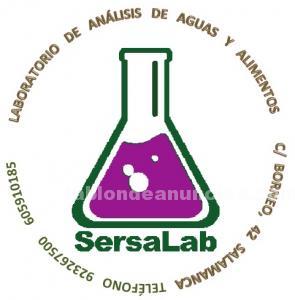 Análisis de agua, laboratorio sersalab