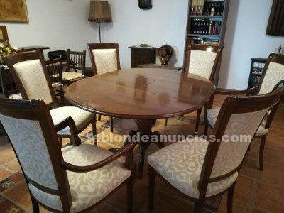 TABLÓN DE ANUNCIOS - Comedor y sillas