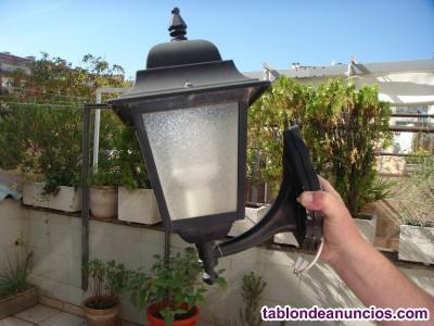 Farolas de jardin o terraza