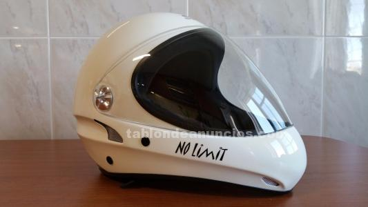 Casco charly no limit blanco